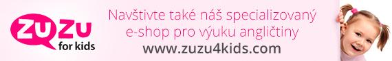 Eshop pro výuku angličtiny dětí - ZUZU FOR KIDS