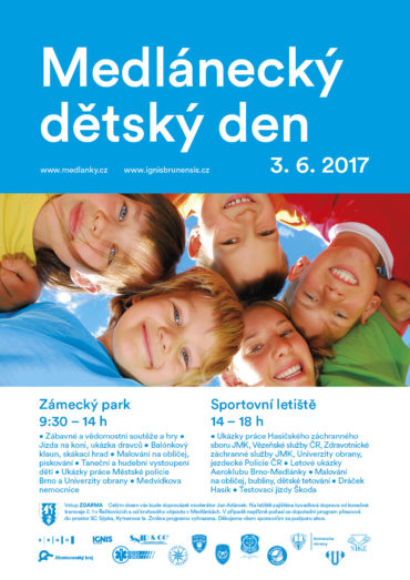 Zuzu English na dětském dnu v Medlánkách – 3.6.2017 – Zámecký park